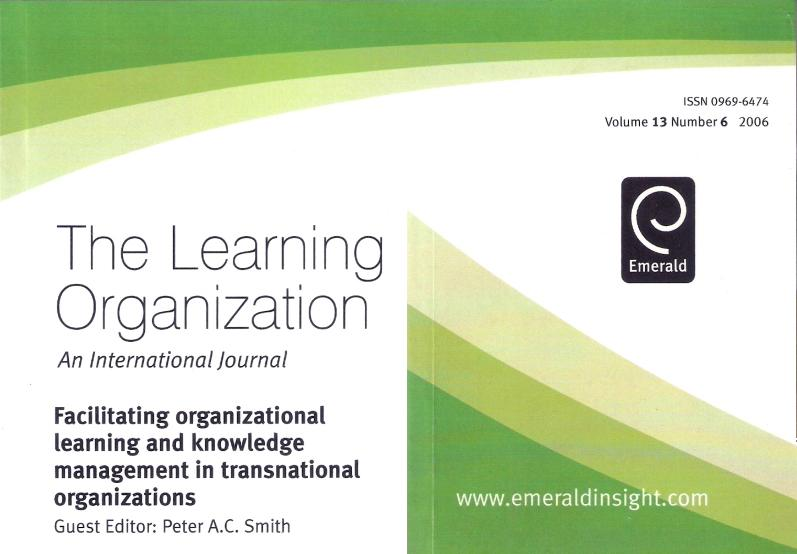 The Learning Organization 4/2006 cover