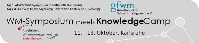 AKWM Symposium meets KnowledgeCamp, Okt. 2012, Karlsruhe
