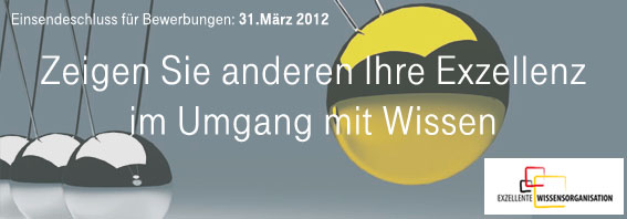 Kongress 'Exzellente Wissensorganisation', 10. Mai 2012, Berlin
